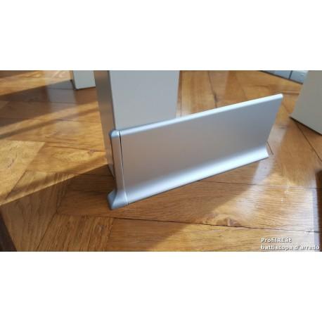 battiscopa in vero alluminio satinato cm7 (1)