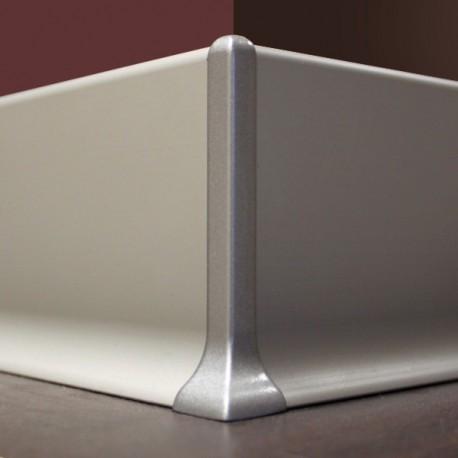 spigolo battiscopa alluminio mm70