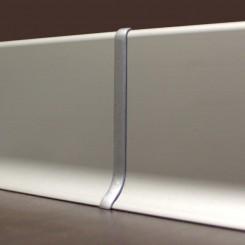 giunzione battiscopa alluminio mm70