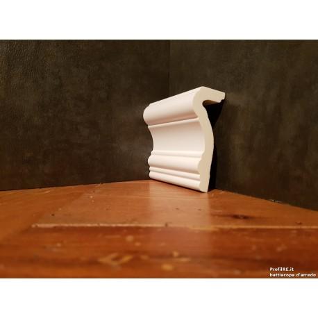 Profilo bianco mezzo muro prc430 mm80 extra resistente