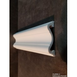 Profilo bianco mezzo muro pra70 extra resistente mm70
