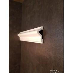 Profilo bianco mezzo muro pra46 dimensione mm46 extra resistente