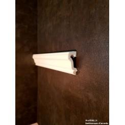 Profilo bianco mezzo muro pra35 dimensioni mm35 extra resistente