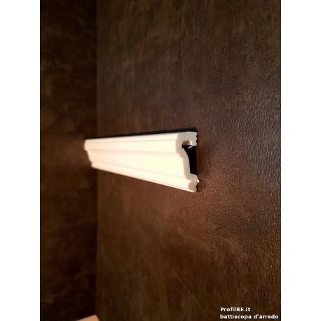 Profilo bianco mezzo muro pra35 mm35 extra resistente