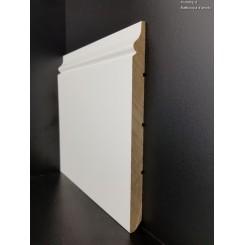 Battiscopa in legno Venezia cm20 laccato bianco standard (1)