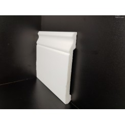battiscopa impermeabile anti umidità in polimero bianco sagomato mm150 x mm 15 (1)