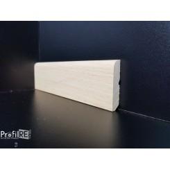 battiscopa basso in legno massello grezzo 44 mm da abbinare al nostro flex