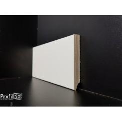battiscopa bianco ral 9010 in legno impiallacciato con bordo quadro 8 cm (2)
