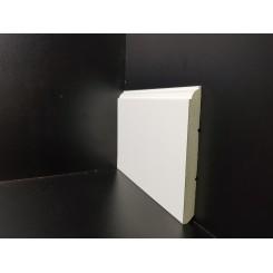 battiscopa laccato bianco Torino alto 12 cm ral 9016 sagomato idrofugo