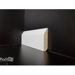 Battiscopa in legno massello Pisa cm 6 moderno taglio dritto