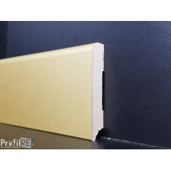 Battiscopa zoccolino oro in mdf laminato effetto dorato opaco (1)