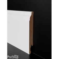 battiscopa Veneto bianco in mdf sagomato alto 12 centimetri (1)