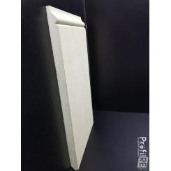 battiscopa alto 30 centimetri in MDF grezzo sagomato inglese venezia