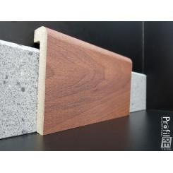 coprizoccolo coprimarmo mdf effetto noce nazionale per pavimenti legno e laminati