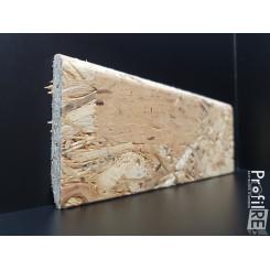 battiscopa rustico effetto industrial in legno osb