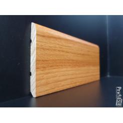 battiscopa in legno massello Doussiè mm 75 spessore mm 10