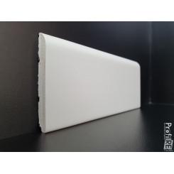 battiscopa bianco ral 9016 in legno alto cm 7 spessore mm 10