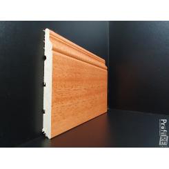 battiscopa legno massello alto ducale inglese tinto doussiè africa