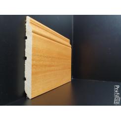 battiscopa legno massello alto ducale inglese tinto Rovere