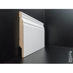 battiscopa alto inglese ducale bianco ral 9016 alto in mdf economico 12 cm