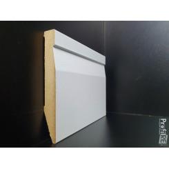 battiscopa mdf Prato bianco alto 12 centimetri sagomato spessore mm 16