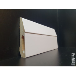 battiscopa Pavia con vano a scomparsa porta cavi in mdf bianco EXTRA RESISTENTE (1)