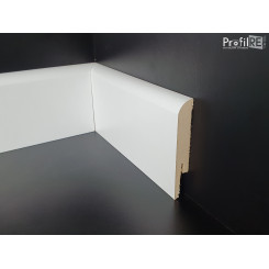 Battiscopa zoccolino economico bianco mm100x15 mdf