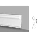 Profilo muro parete battiscopa bianco boiserie extra resistente pronto all'uso prjc168