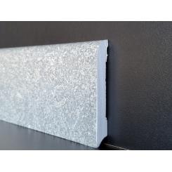 battiscopa impermeabile effetto pietra granito alto 7 cm